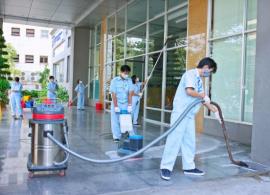 Dịch vụ vệ sinh công nghiệp giúp môi trường sống trong lành, sạch sẽ